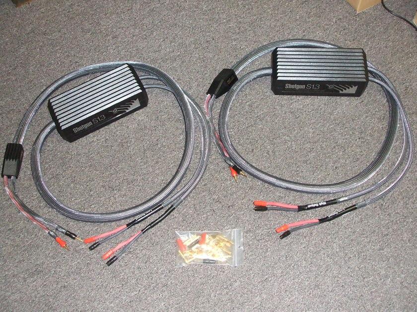 MIT Shotgun S1.3 Biwire Speaker Cables 8ft pair