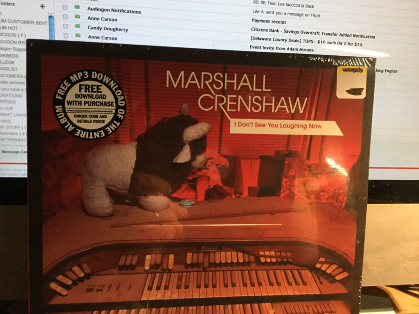 Marshall Crenshaw - I Don't See You Laughing Now SEALED 10 inch