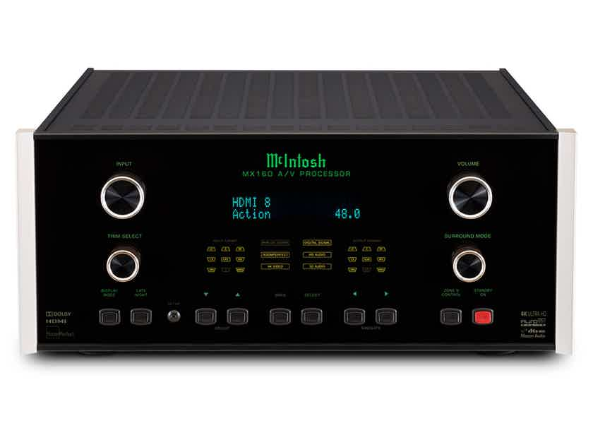 McIntosh MX-160 Home Theater Audio-Video Processor/Preamplifier- NEW IN BOX