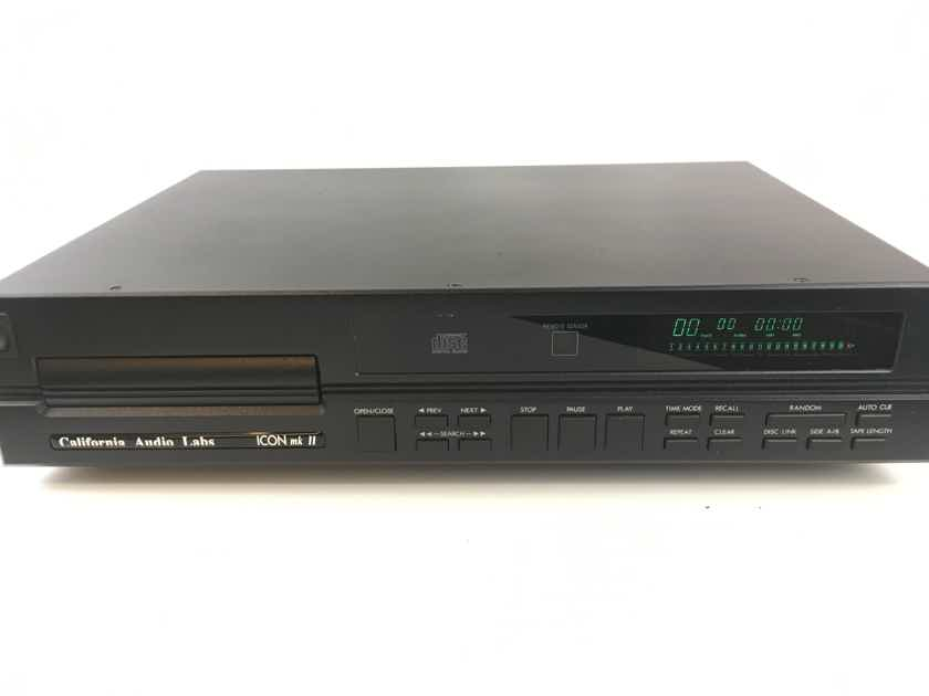 California Audio Labs Icon mkII - Classic CD Player