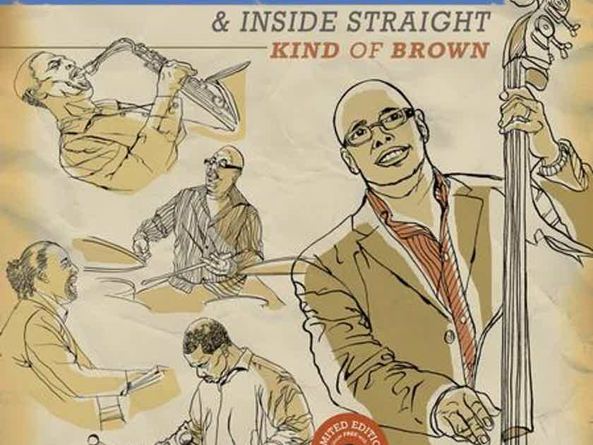 Christian McBride & Inside Straight - Kind of Brown 2 LPs on 210 gram vinyl