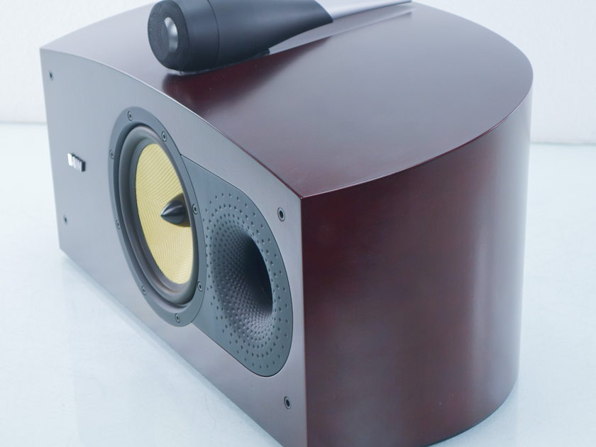 B&W HTM2   Center Channel Speaker; Red Cherry (7993)