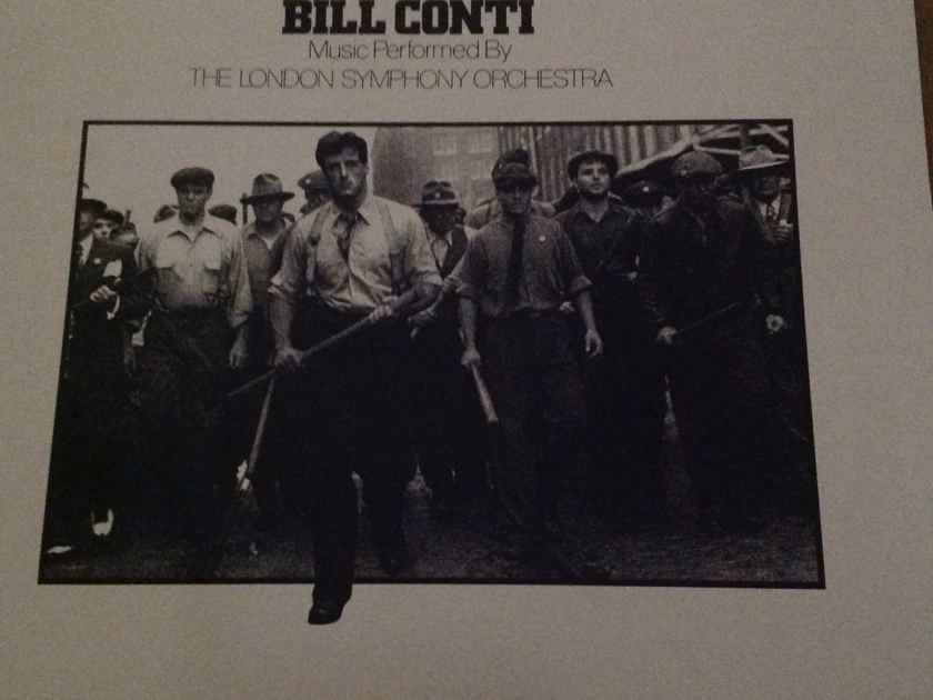 Bill Conti - F.I.S.T. Soundtrack UA Records Vinyl LP NM