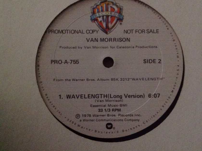 Van Morrison - Wavelength  Promo 12 Inch Single Long And Short Version Warner Brothers