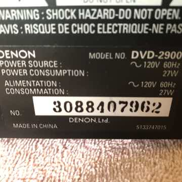 Denon DVD-2900
