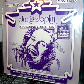Janis Joplin Starsound Collection - Halfspeed  Mastered...