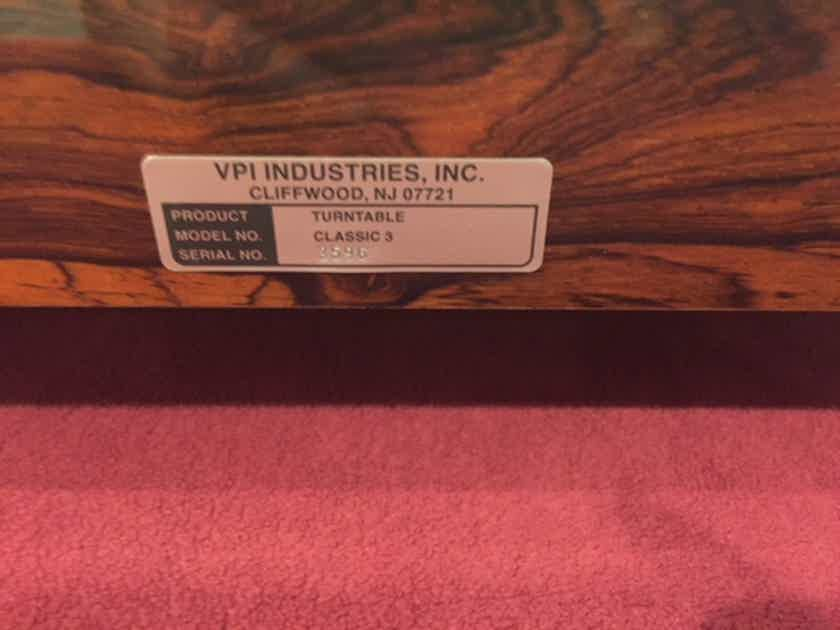 VPI Industries Classic 3 Rosewood