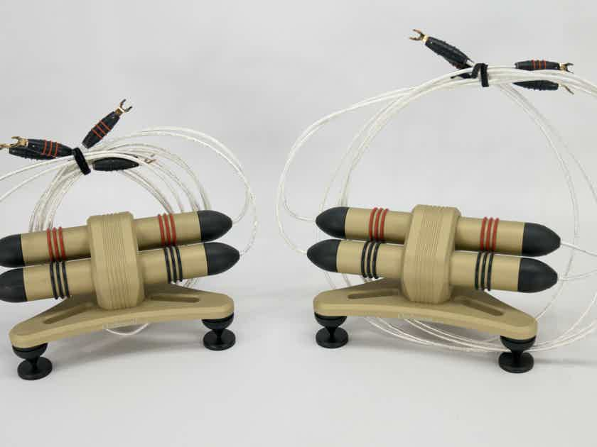 High Fidelity Cables Orchestral Helix Speaker Cables 3 meter