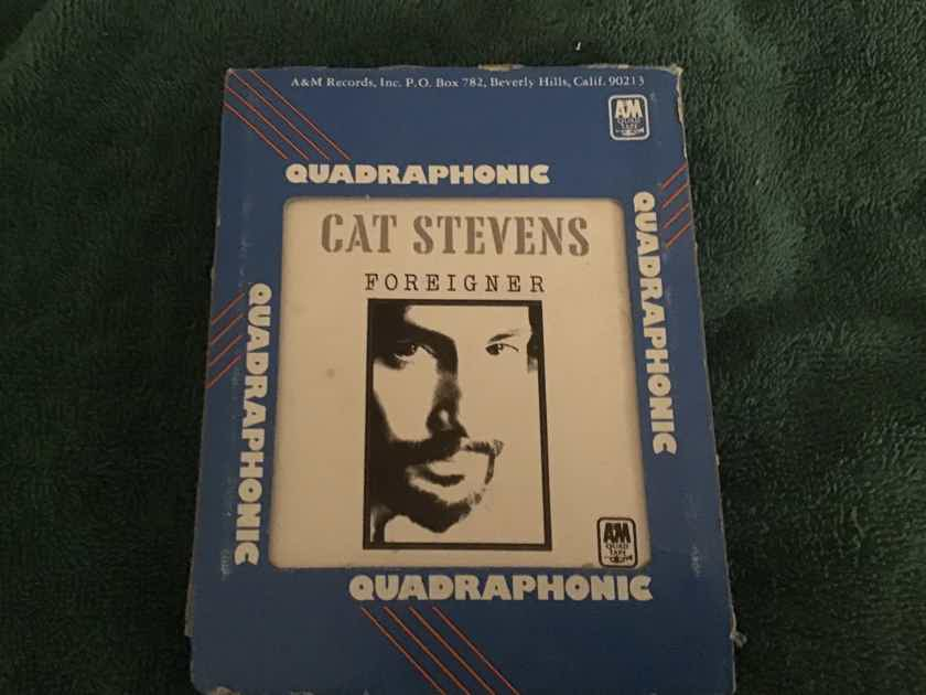 Cat Stevens  Foreigner A & M Records Quadraphonic 8 Track