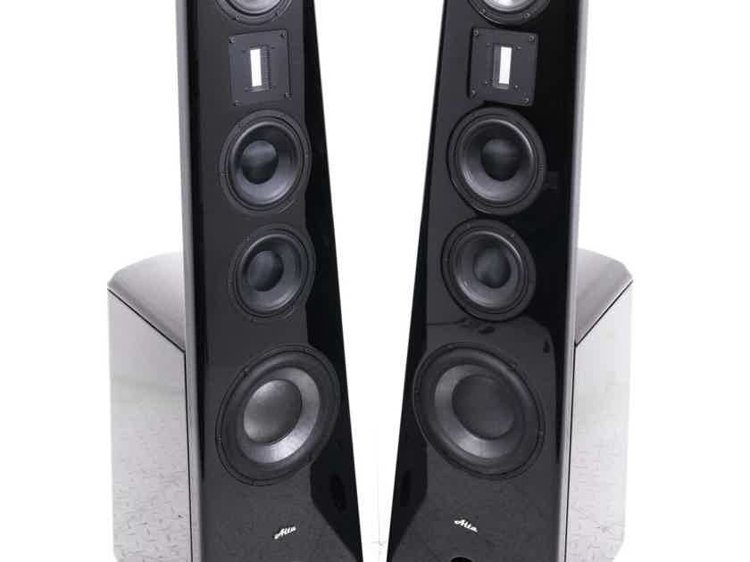 Alta Audio Hestia Titanium Floorstanding Speakers; Onyx Pair (21651)