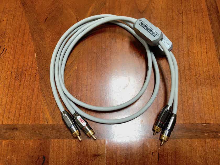 MIT Cables, Terminator 3, 1m, RCA