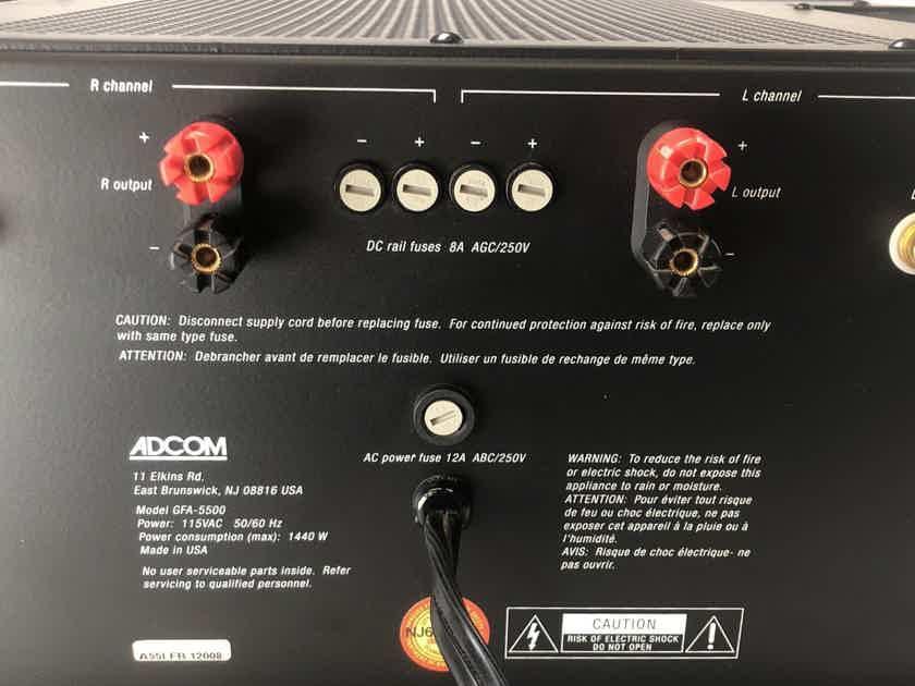 Adcom GFA-5500 Amplifier - 200 Watts Per Channel