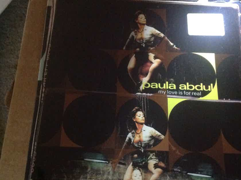 Paula Abdul - My Love Is For Real Sealed 12 Inch  Viny Virgin Captive Records Label 3 Versions