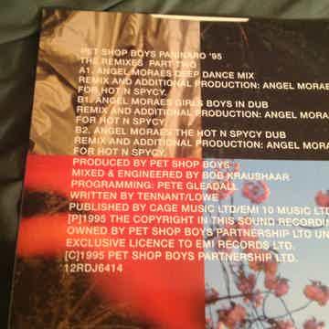 Pet Shop Boys Paninaro '95 The Remixes Part Two