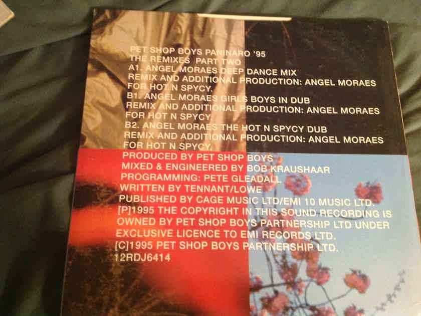 Pet Shop Boys Paninaro '95 The Remixes  U.K. 12 Inch