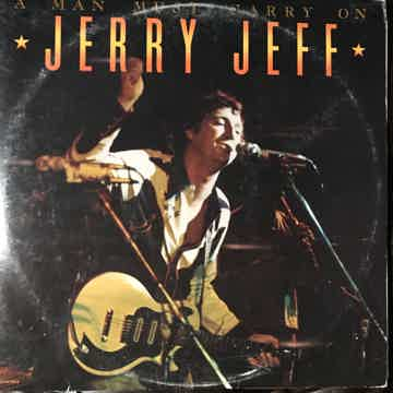 Jerry Jeff Walker Live - A Man Must Carry On