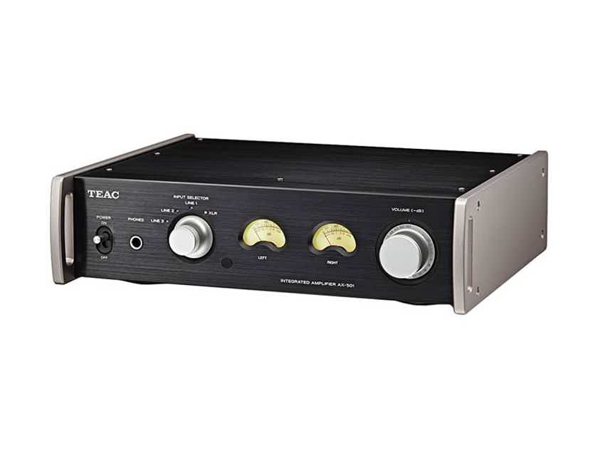 TEAC AX-501-B Integrated Amp: Brand New-in-Box; Full Warranty; 50% Off