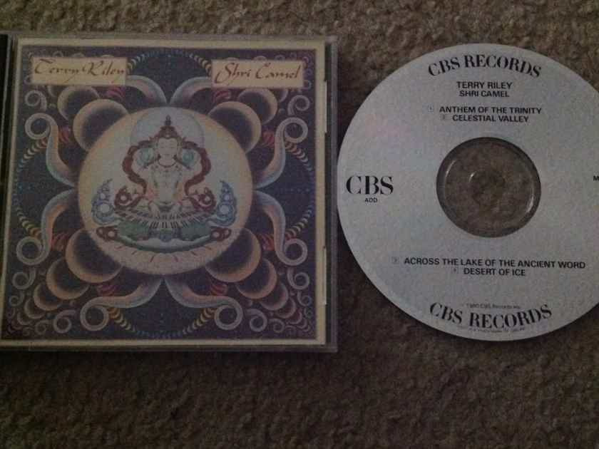 Terry Riley - Shri Camel CBS Records Compact Disc