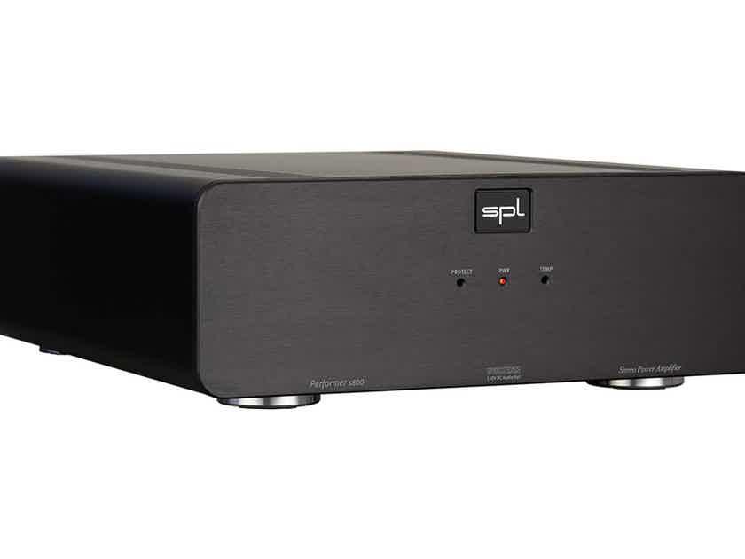 "SPL Germany - ""Performer S800"" balanced power amp  -studio quality at home !!!"
