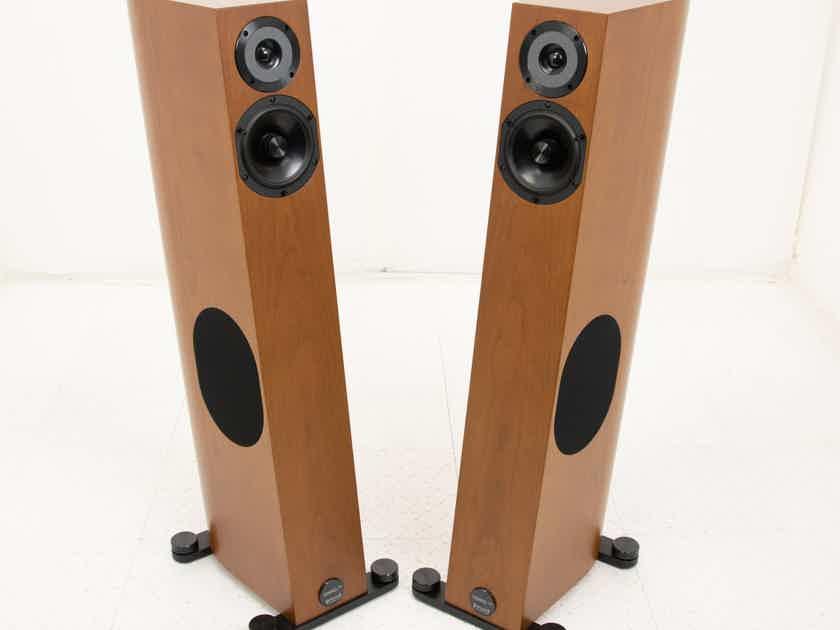 Audio Physic Tempo Plus Floorstanding Speakers; Cherry Pair (19123)