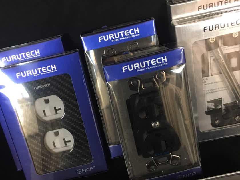 Furutech GTX-D NCF, 105.1 NCF, GTX Wall Plate 2 sets Brand New + Free Ship!!