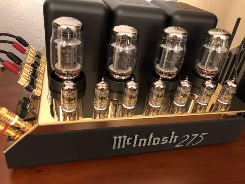 McIntosh MC-275 Commerative Gold Edition.