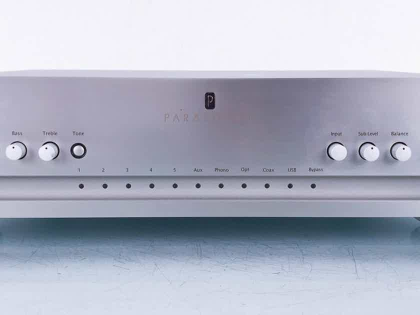 Parasound P5 2.1 Channel Preamplifier P-5 (High Pass Non-Functional) (14817)
