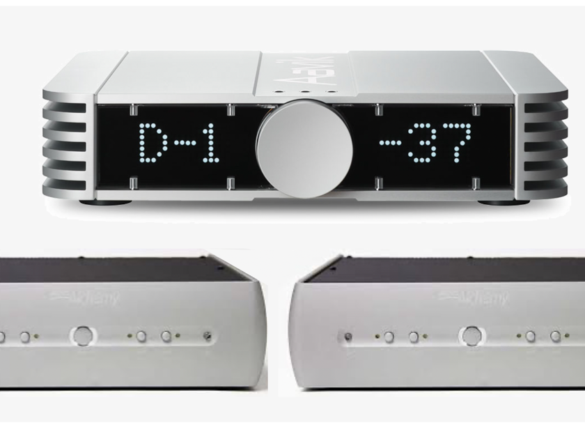 Aavik Acoustics C-150 preamp w/Phono&DAC plus 2 Audio Alchemy DPA-1M monoblocks. Dream combination!