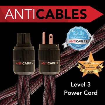 "ANTICABLES Level 3 ""Reference Series"" Power Cord"