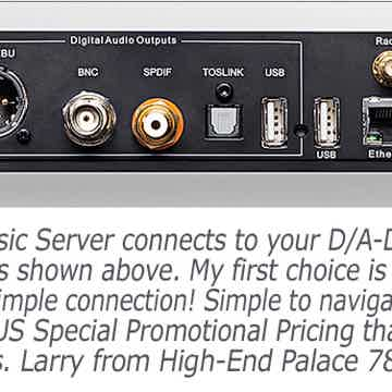 6000 CD high-end transport music server super deal