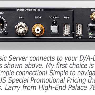 12,000 CD high-end SS Transport Music Server deal