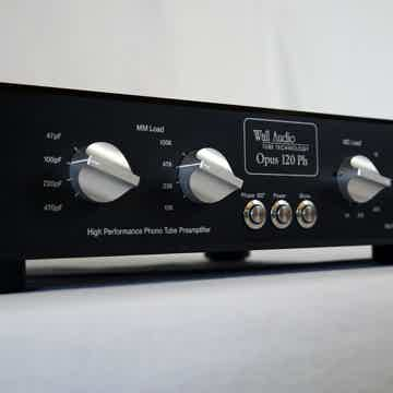 Wall Audio OPUS 120 PH MM/MC tube phono stage - new mod...