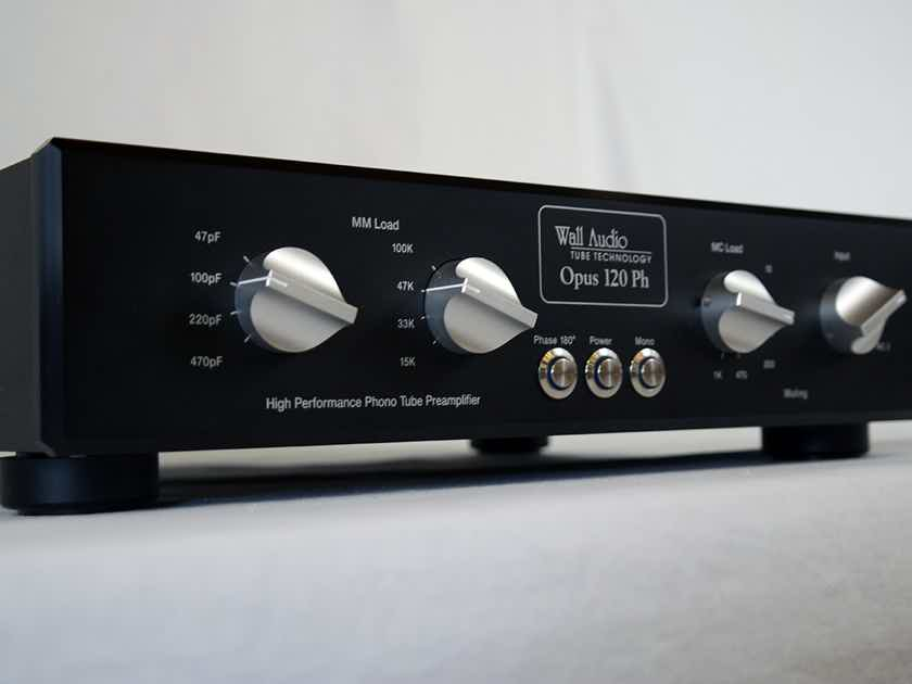 Wall Audio OPUS 120 PH MM/MC tube phono stage - new model - just in from Germany