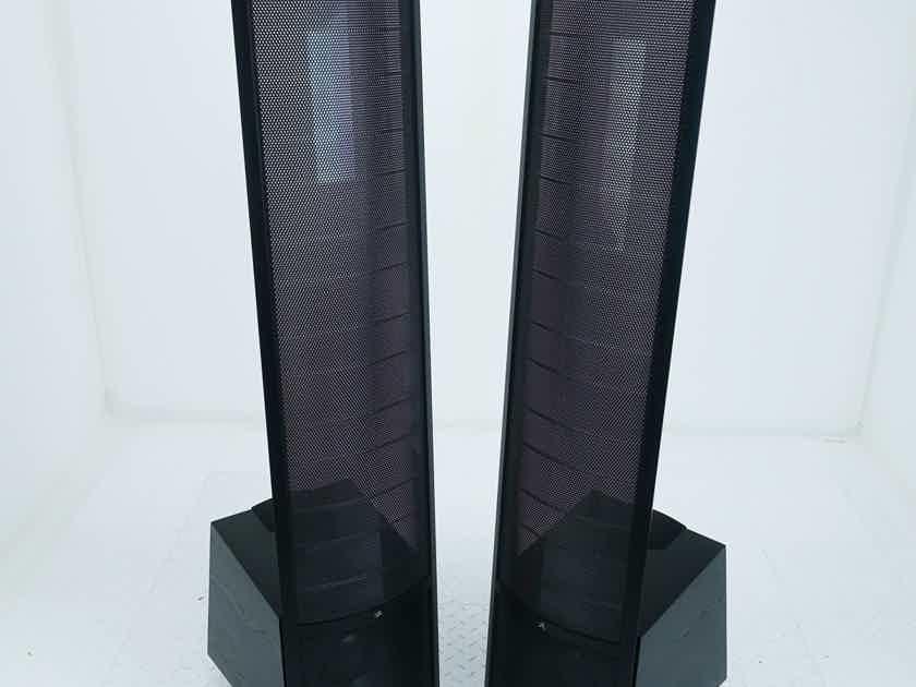 Martin Logan Spire Electrostatic Hybrid Floorstanding Speakers Black Pair (16291)