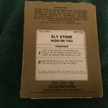 Sly Stone  High On You Quadraphonic 8 Track