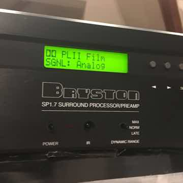 Bryston SP1.7 with remote!!
