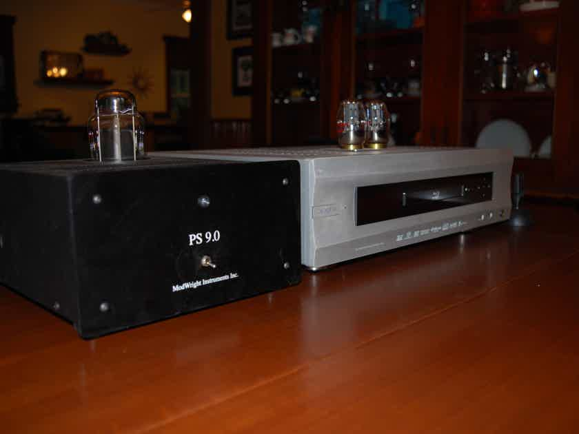 OPPO Modwright BDP-105D With Bybee Rail and Audio Magic Pulse Gen ZX