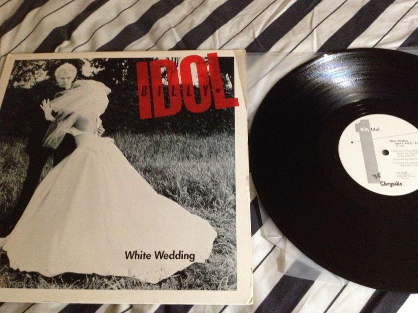 Billy Idol - 12 Inch Single White Wedding Chrysalis Label