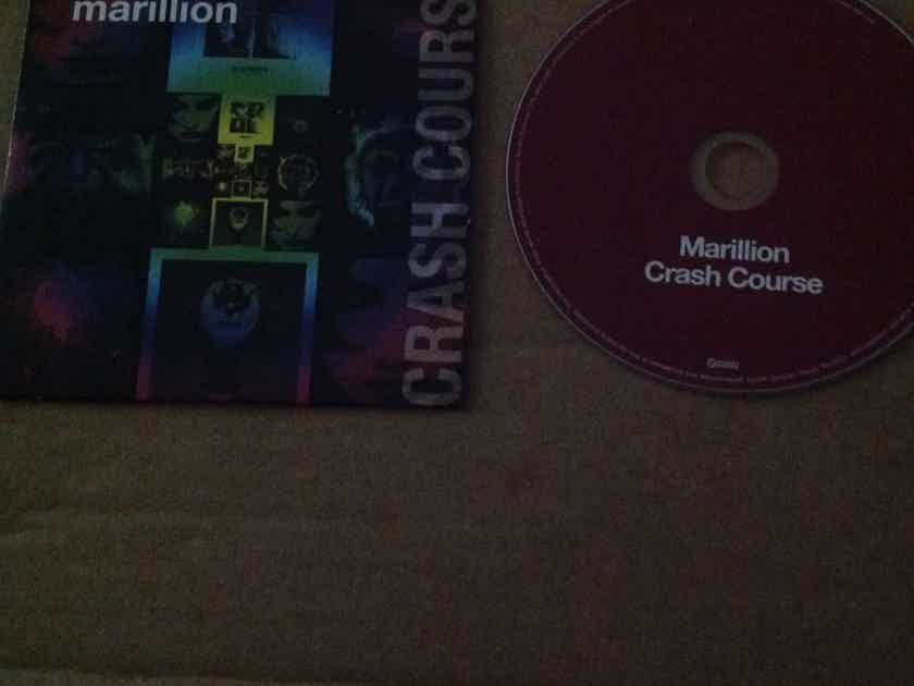 Marillion - Crash Course  Racket Records Rare Compact Disc
