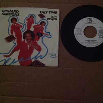 Richard Simmons - This Time Elektra Records Promo Singl...
