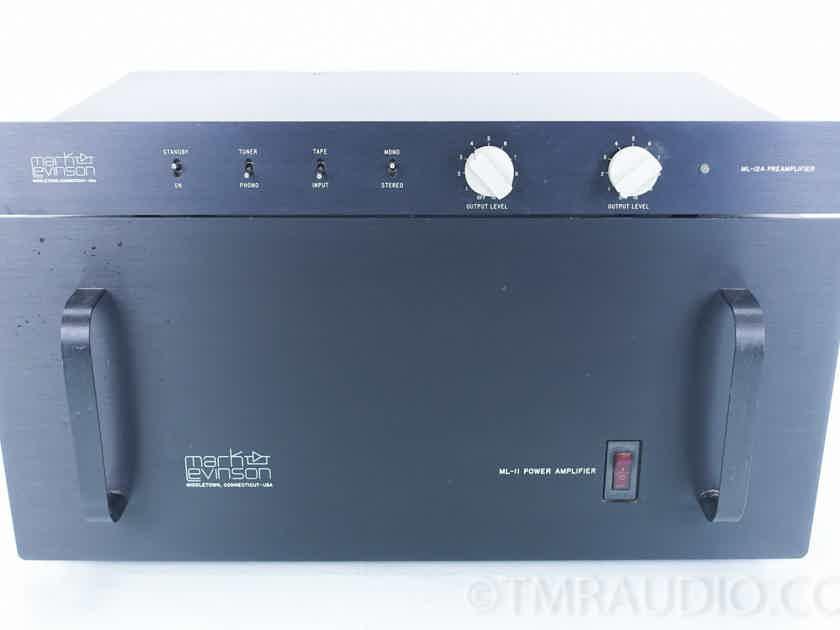 Mark Levinson ML-12A Preamplifier w/ ML-11 Power Amplifier (6880)