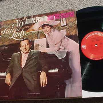 Andre Previn and his quartet lp record My fair lady Audrey Hepburn cover