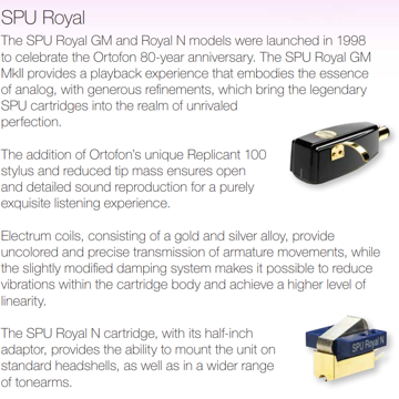 Ortofon SPU Royal N