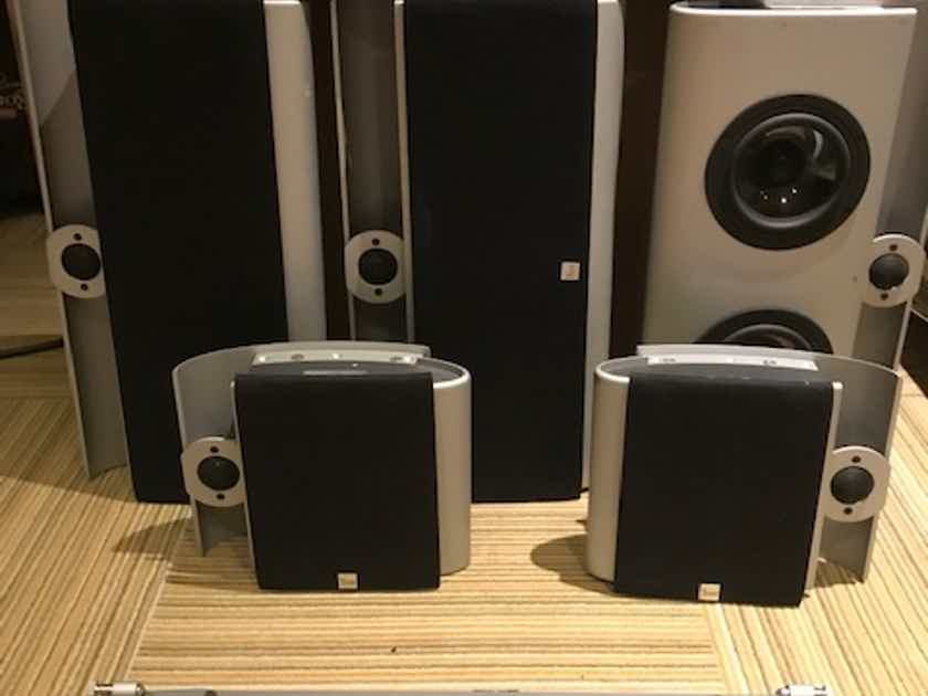 Vienna Acoustics Berg, Webern 5 channel surround setup