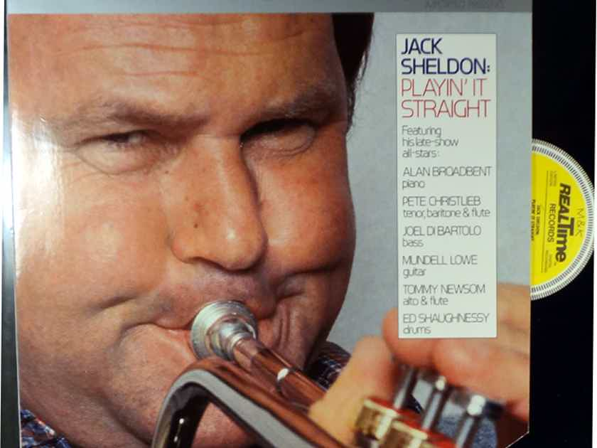 JACK SHELDON PLAYIN' IT STRAIGHT REALTIME RT-303