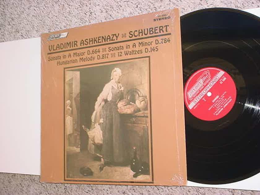 Vladimir Ashkenazy Schubert lp record sonata A Major A minor london cs 6500