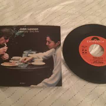 John Lennon Yoko Ono 45 With Picture Sleeve  Nobody Tol...
