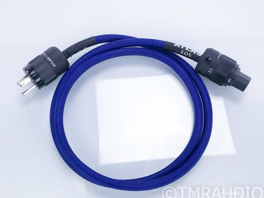 Atlas EOS 2mm Power Cable; 1.5m AC Cord; Rhodium (18297)
