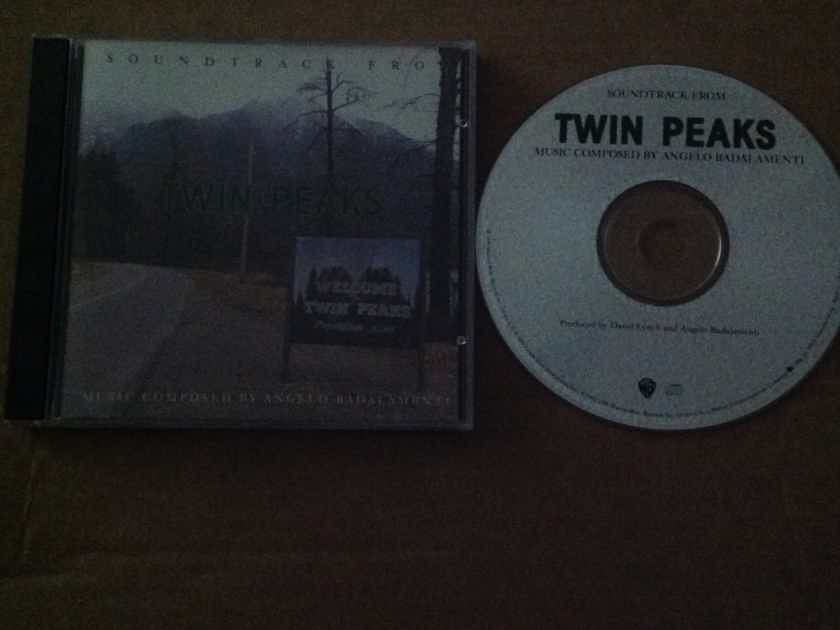 Angelo Badalamenti - Soundtrack From Twin Peaks Warner Brothers Records Compact Disc