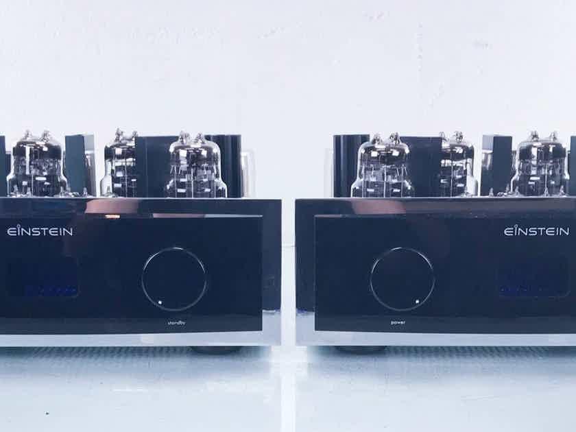 Einstein The Final Cut MK60 Mono OTL Tube Power Amplifier Pair (New Tubes) (14787)